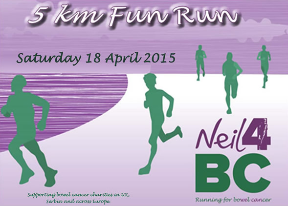 5,000,000 mm Fun Run/Walk on 18 April in Belgrade