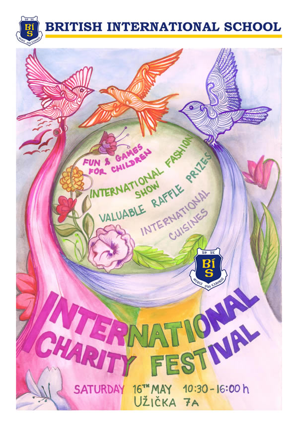 BIS International Charity Festival poster